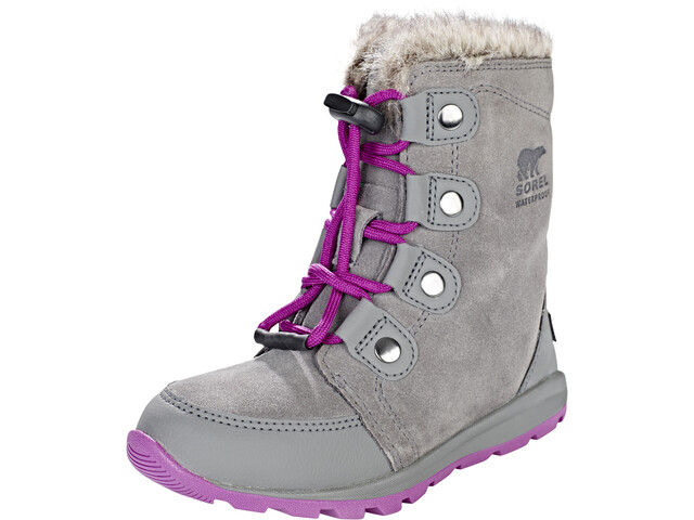 Sorel Whitney Joan Boots Kinder quarry/raspberry